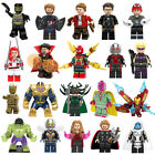 New Lego MARVEL Minifiguren Super Heroes Wasp Black Panther Avengers Mini Figu