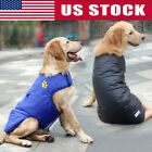 Winter Waterproof Dog Vest Jacket Two Side Puppy Warm Large Dog Coat Clothes USA