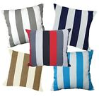Pillow Cover*Stripes Cotton Canvas Sofa Seat Pad Cushion Case Custom Size*AK3