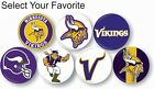 "Minnesota Vikings NFL Pin Pinback Button 1 .25"" Collectible Sports Hat Accessory on eBay"
