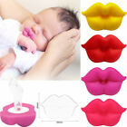 Food Grade Silicone Baby Pacifier Lip Mouth Shape Infant Toddler Baby Soother RQ