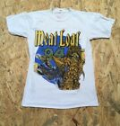 Vinatage Meat Loaf Bat Out Of Hell ll Back Into Hell Tshirt Tour 90s Meatloaf