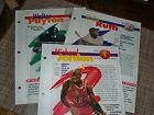 1994 Feats & Facts. Cards 3 of them babe Ruth michel jorden walter peyton   3223