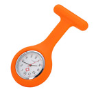 Silicone Nurse Watch Brooch Pocket Fob Watch Battery Included Doctor Medical NEW