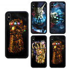 Avengers Thanos Gauntlet Gloves Phone Case Fit For iPhone & Samsung