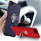 Hybrid Ring Armor Case Cover Magnetic Ring Stand Holder For All iPhone XXS XSMAX