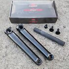 HARO BIKES 1978 CRANK 3 PIECE 175MM BLACK OR CHROME BMX BIKE BICYCLE CRANKS