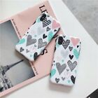 Fashion Simple Heart Smooth UNBreak Phone Case Cover For Apple iPhone 6-XS Max