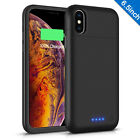 Portable External Battery Backup Power Bank Charger Case For iphone X/XS MAX