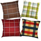 Pillow Cover*A-Grade Cotton Canvas Sofa Seat Pad Cushion Case Custom Size*LL4