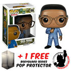 FUNKO POP THE WLAKING DEAD GUS FRING NO. 166 + FREE POP PROTECTOR