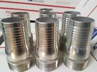 Dixon Fittings STC25 Plated Steel Hose Fitting/ Nipple Threaded Lot of 7