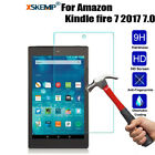Thin Tempered Glass Screen Protector For Kindle fire 7 2017 2018 7th Generation
