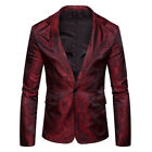 Stylish Men&#039;s Casual Slim Fit Formal One Button Suit  Coat Jacket Men Tops <br/> 2-9 Days❤Free Shipping❤Return Back❤High Quality