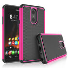For LG Stylo 4/5/Q Stylus Alpha/Plus Silicone Phone Case Hybrid Shockproof Cover