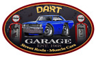 1968 Dodge Dart Hardtop Garage Sign Wall Art Graphic Sticker $19.0 USD on eBay