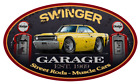 1969 Dodge Dart Swinger Garage Sign Wall Art Graphic Sticker $29.0 USD on eBay