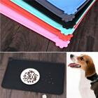 Pet Puppy Pet Feeding Mat Non Slip Pet Food Placemat For Dog Cat Bowl Non-Toxic