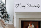 Merry Christmas Quote Family Wall Art Vinyl Sticker Words & Phrases