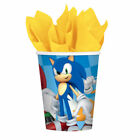Sonic The Hedgehog Party Plates Cups Banner Tablecovers Etc