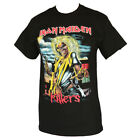 IRON MAIDEN KILLER  MAN'S T-SHIRT BLACK