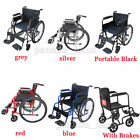 Panana AID Wheelchair Footrest Self Propell Folding Lightweight Transit Comfort