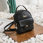 Women Girls Mini Faux Leather Backpack Rucksack School Bag Travel Handbag
