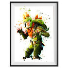 Rex Poster Game Outfit Print Wall Art Gaming Room Decor Gift Skin  S618