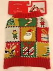 Ugly Holiday Dog Sweater - XS - Red & Green Christmas - Wondershop - NWT