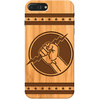 Zeus Hand - Apple and Samsung Wooden Phone Case