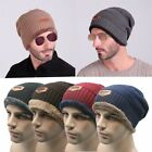 HIRIGIN Beanies Knit Hat Winter Hats For Men Skullies Winter Hat Wool Ski Cap