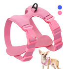 Small Dog Harness Soft Suede Leather French Bulldog Chihuahua Harness Vest Pink