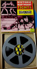 Vintage Super 8 Black & White Historic Heayweight Fights Boxing