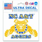 "North Carolina A&T Aggies Official NCAA 3"" x 4"" Automotive Car Decal ..."