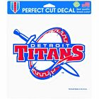 "Detroit Mercy Titans Official NCAA 8"" x Automotive Car Decal 8x8 by Winc ..."