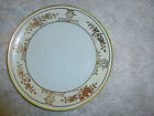 Vintage Nippon Hand Painted Saucer White Cream Band Gold Gilt Trim 6 1/4""