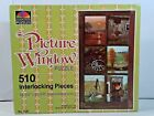 Внешний вид - 510 Pcs Vintage Selchow & Righter Jigsaw Puzzle Picture Window.