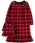 Внешний вид - New Carters Toddler Girls Buffalo-Check Nightgown & Doll Nightgown Set 2 3 4 5