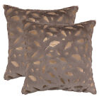 2Pcs Fluffy Faux Fur Soft Throw Pillow Case Sofa Couch Bed Waist Cushion Covers