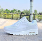 UK Women Gym Sport Trainers Air Cushion Lace Up Sneaker Ladies Casual Shoes Size