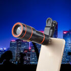 Clip-on 12x Optical Zoom HD Telescope Camera Lens For Universal Mobile Phone6ON