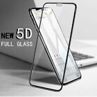 5D   Tempered Glass Screen Protector For Apple iPhone 7 8/plus  X  XS MAX XR  uk