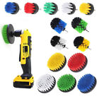 Drill Brush Power Scrubber Cleaning Scrub Bit Pad Tile Tub Grout Cleaners Combo
