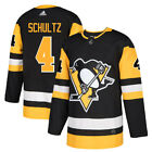 4 Justin Schultz Jersey Pittsburgh Penguins Home Adidas Authentic