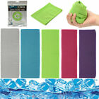Super ice Cold Instant Cooling Towel Running Jogging Gym Chilly Pad Sports Yoga image