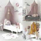 US Child Baby Bed Canopy Netting Bedcover Mosquito Net Curtain Bedding Dome Tent image