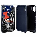 Illinois Fighting Illini Paulson Designs Spirit Hybrid Case for iPhone X/Xs with