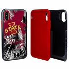 Iowa State Cyclones Paulson Designs Spirit Hybrid Case for iPhone X/Xs with Guar