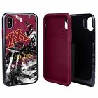 Minnesota Golden Gophers Paulson Designs Spirit Hybrid Case for iPhone X/Xs with