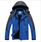 New Men Waterproof Windproof Warm Outdoor Shell Fleece Coat Ski Snowboard Jacket